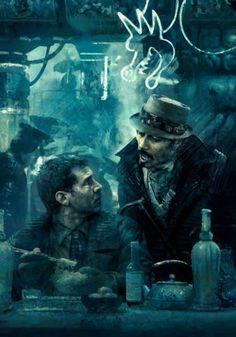 BROTHERTEDD.COM Blade Runner Art, Blade Runner 2049, Zooey Deschanel, Death Note, Disneysea Tokyo, Supernatural, Pen & Paper, Futuristic Robot, Noodle Bar