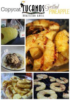 Rodizios or Tucanos Brazillian grill pineapple copycat recipe