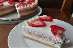 Příprava receptu Vynikající jahodový cheesecake, krok 1 Cream Brulee Cheesecake, Cheesecake Recipes, Sweet Recipes, Deserts, Food And Drink, Cakes, Top Recipes, Cake Ideas, Dessert Ideas