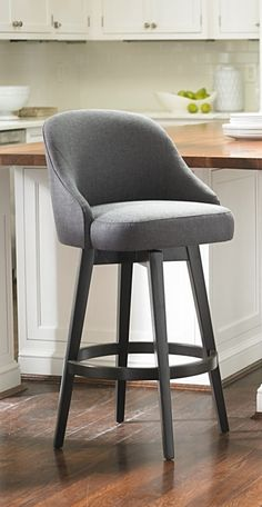 The kind of mid-century modern style that brings the chic and the swivel, our Isaac Bar Stool is all kinds of wonderful.