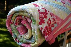 Darla Quilt - rolled | Flickr - Photo Sharing!