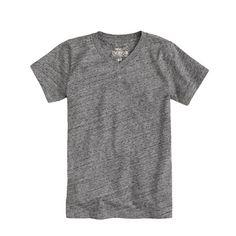 A wardrobe essential in a fresh crop of cool colors. <ul><li>Prewashed and preshrunk.</li><li>Cotton jersey.</li><li>Machine wash.</li><li>Import.</li><li>Online only.</li><li>Our colors really pop, but you can't tell just how vibrant some of them are until you see them in person.</li></ul>