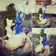 Jarre lumineuse Pikmin bleu ! 💡🌱 #jarre #pikmin #pikminbleu #lumiere #fleur #coquillage #shell #flower #sable #gamecube #light #deco #decoenfant #child #childroom #photophore #baby #chambrebebe #chambreenfant #babyshower #babyroom #coquillage #childdesign #design #mousse #terrarium #littleworld #posca 👍#lapetitefabriquechloesakura on facebook.