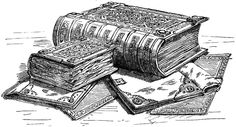 The Domesday Book - The Middle Ages - Facts for Kids Clip Art Vintage, Tattoo Painting, Domesday Book, Enough Book, Facts For Kids, Book Images, Art Images, Old Books, Children's Books