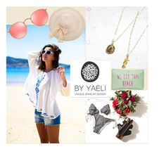 """""""Yaely Jewelry (3)"""" by albinnaflower ❤ liked on Polyvore featuring Vichy, Ray-Ban and T-shirt & Jeans"""