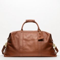 The Large Cabin Bag from Coach---for men, but I love it!