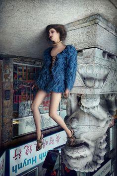 ¡¡¡Esta serie de fotografías de moda está dando la vuelta (casi literalmente) al mundo!!!
