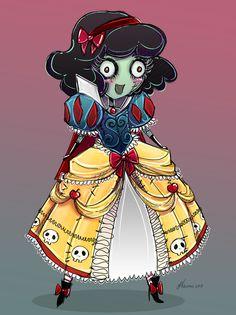 Cute Zombie Snow White