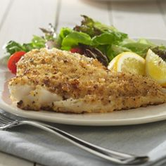 Crispy Cod Fillets ... tasty, quick and healthy! Try this tonight in just 20 minutes.