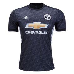 a7e8472e5 17-18 Manchester United Away Black Jersey Shirt Soccer Gear, Soccer Kits,  Kids