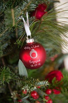 Turn an EngagementWedding Ring Box Into a Christmas Ornament