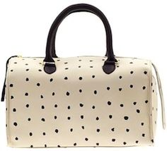 Lovely spotted bag. http://rstyle.me/~2VHLJ