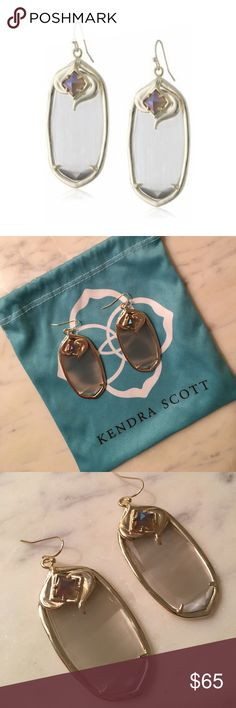 🌟FLASH SALE🌟KENDRA SCOTT Aurora Gabby Earrings Gorgeous Kendra Scott Aurora Gabby Earrings in Slate Ice. 14K Gold Over Brass. Worn Only Once, Like New. Come With Original Jewelry Pouch. Guaranteed Authentic. Price Negotiable! Kendra Scott Jewelry Earrings