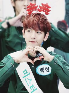 EXO Baekhyun Christmas Day - Miracles In December looking so adorable○○