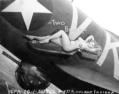 "B-17 Flying Fortress - ""Two Beauts""."