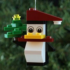 2014 Christmas Penguin Ornament Buildit Kit by ornaments4charity
