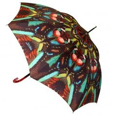 Jean Paul Gaultier Papillon Umbrella Green