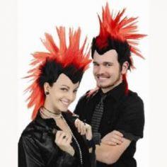 RockStar Mohawk Wig http://www.partysuppliesnow.com.au/