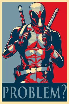 PROBLEM? #deadpool http://www.alteregocomics.com