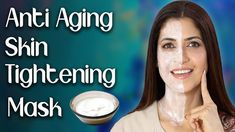 Homemade Anti-Aging Skin Tightening Face Mask for Younger Looking Skin -... Beauty Tips For Skin, Beauty Skin, Health And Beauty, Tightening Face Mask, Facial Yoga, Younger Looking Skin, Anti Aging, Homemade Masks, Skin Care