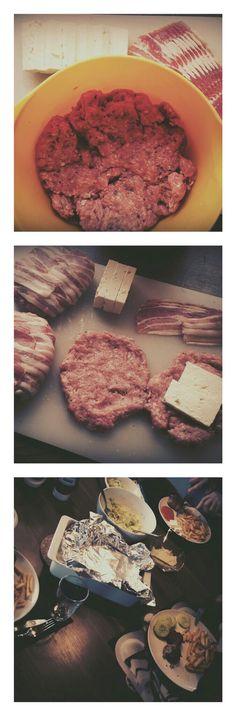 #Abendessen #yugoart #dazusogarungesundepommes #nurdasbetse #fürmeinemänner #Hackfleisch #gewütze #feta #Bacon #salat #ajvar #zwiebeln #essenistleidenschaft #allehappy #meinmannliebtes #kindistsatt #selfmade #foodporn #antitütenkochen