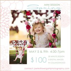Spring Mini Sessions - Sweigart Photography – Collingswood, NJ Photographer
