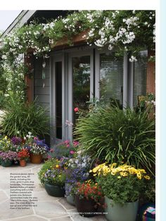 """Containers, Color, & Creativity"" from Country Gardens Magazine, Early Spring 2018. Read it on the Texture app-unlimited access to 200+ top magazines."
