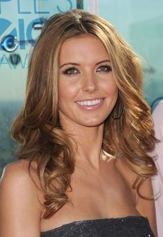 light brown hair with sun kissed blonde highlights....