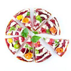 Morimoto Tuna Pizza @FoodBlogs