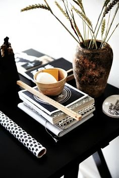 signed by tina: Black & white Interiors....