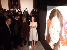 Inauguran en Palacio en el marco del 8 de Marzo exposición Flores de la joven artista local Morena Matto | El Puntero