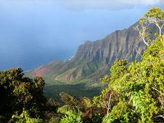 Kalalau Valley, Kaua'i  Hawaiian Islands  Photo by N. Lawrence