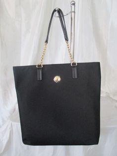 Bag Purse Handbag Tommy Hilfiger New Color Black Tote II 6930209 990 #TommyHilfiger #Totes
