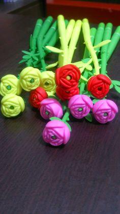 Sweet Scent! ^_^ Flower Gel Pen