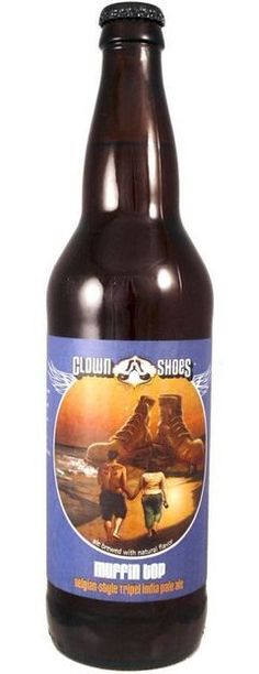 Clown Shoes Muffin Top: American Beer with Belgian Yeast More Beer, All Beer, Best Beer, Australian Beer, Clown Shoes, Make Your Own Beer, American Beer, Beers Of The World, Natural Preservatives
