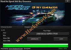 Need For Speed 2015 Key Generator
