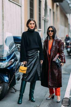 Los Mejores Looks De Street Style De La It Girl Italiana Diletta Bonaiuti (Cut & Paste) - Fashion Week, Look Fashion, Daily Fashion, Fashion Outfits, Street Chic, Street Wear, Street Style, Fashion Tips For Women, Womens Fashion