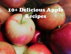 Apple season means great fall recipe! Here are some delicious comfort food recipes to make this fall. Perfect for thanksgiving!