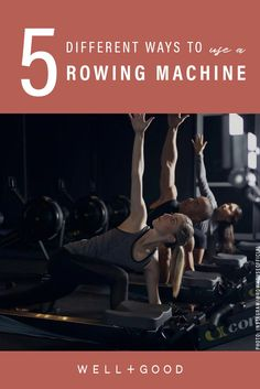 5 challenging ways to use a rower that don't have *anything* to do with rowing - row machine workout - Upper Body Workout For Women, Fitness Tips, Fitness Motivation, Rowing Workout, Squats And Lunges, Work Goals, Pregnancy Workout, Pregnancy Fitness, Rowing Machines
