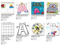 Recursos lectoescriptura i àlbums picassa. Picasa Web Albums, Thing 1, Grammar, Signs, Comics, Ideas, Funny Letters, Fine Motor, Children's Books