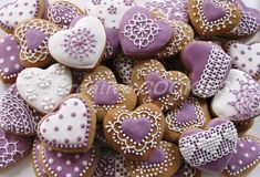 Purple Valentine's | Cookie Connection