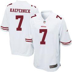 Cheap NFL Jerseys - Game Kids Colin Kaepernick #7 Red San Francisco 49ers Team Color ...