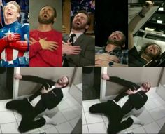 Marvel memes and adorable photos - the chris evans laugh scale - wattpad Marvel Jokes, Avengers Memes, Marvel Actors, Marvel Funny, Marvel Avengers, Avengers Trailer, Captain Marvel, Marvel Comics, Capitan America Chris Evans