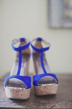 blue suede shoes | Our Labor of Love