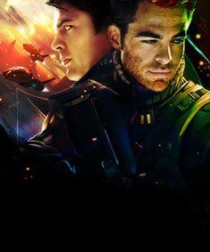 Star Trek 2009, New Star Trek, Star Wars, Radios, Chris Pine Movies, Star Trex, Star Trek Reboot, Spock And Kirk, Star Trek Movies