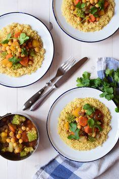 Chana Masala, Vegan, Ethnic Recipes, Food, Vegetable Curry, Seasonal Recipe, Raisin, Daughters, Earth