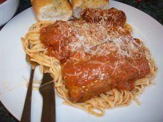 Sunday Sauce and Pasta