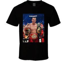 Vladamir Klitschko Retro Boxing Fan T Shirt
