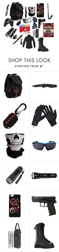 """""""Y/n's Hiking/Exploring gear"""" by corruptedmind-678 on Polyvore featuring Handle, Harley-Davidson, 5.11 Tactical and Danner"""
