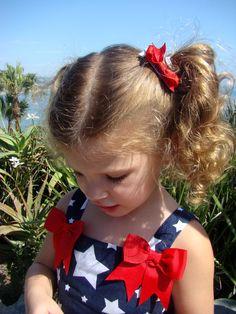Patriotic little girl Etsy Gymboree Laguna Beach CA Fourth of July
